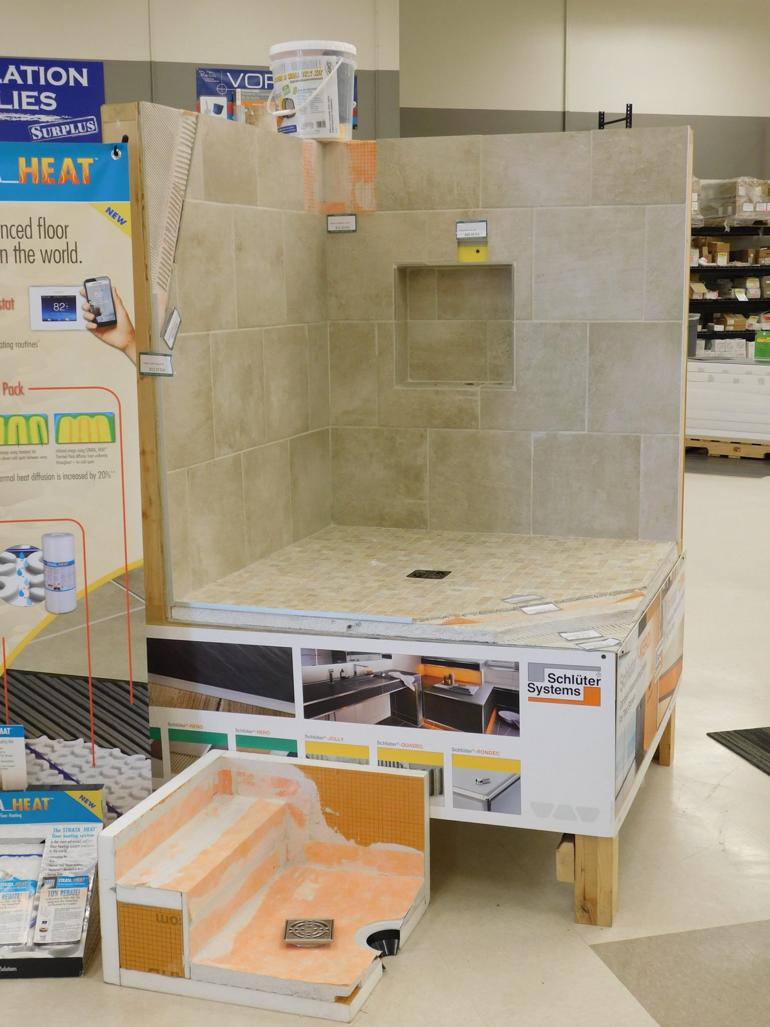 Shower Systems - Floor Surplus & Outlet